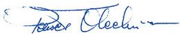 Paweł Olechnowicz, podpis